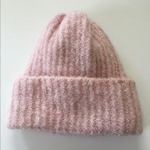NWOT Soft and Warm Pink Beanie